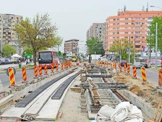 Modernizarea liniei de tramvai pe bulevardul Liviu Rebreanu