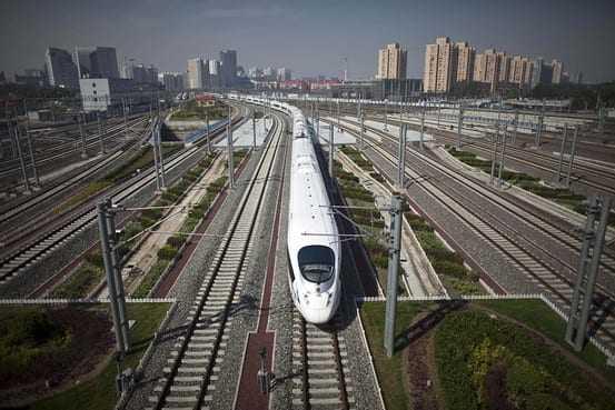 restricții de circulație în China căi ferate de mare viteză în China