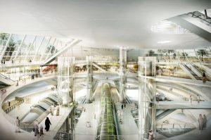 Riyadh-station_Olaya-interior
