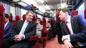miniștrii francezi să meargă cu trenul
