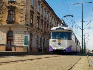 Spitalul Victor Babeş din Timişoara tramvaie din Timișoara