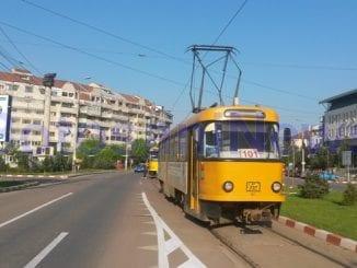 modernizarea liniilor de tramvai din Botoșani