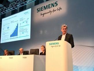 Afacerile Siemens au scăzut