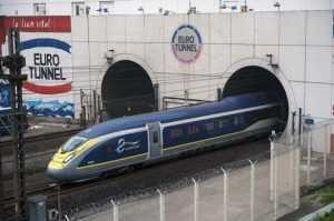 trenurile Eurostar au fost anulate control vamal la Eurostar