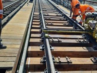 lucrări la calea ferată Reparaţii CFR