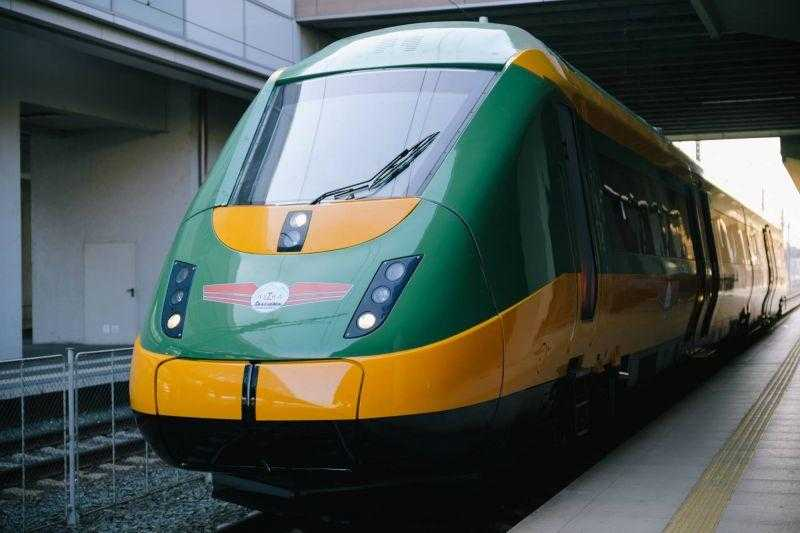 tren privat la Mangalia