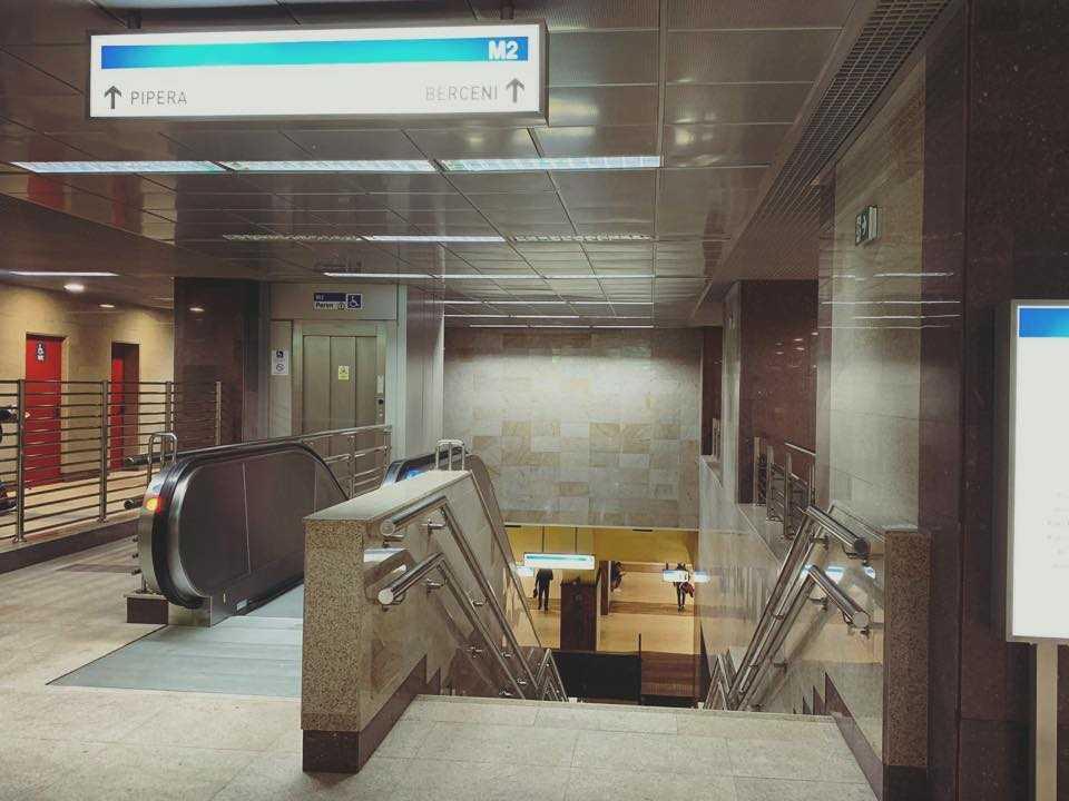 metrou la Tineretului