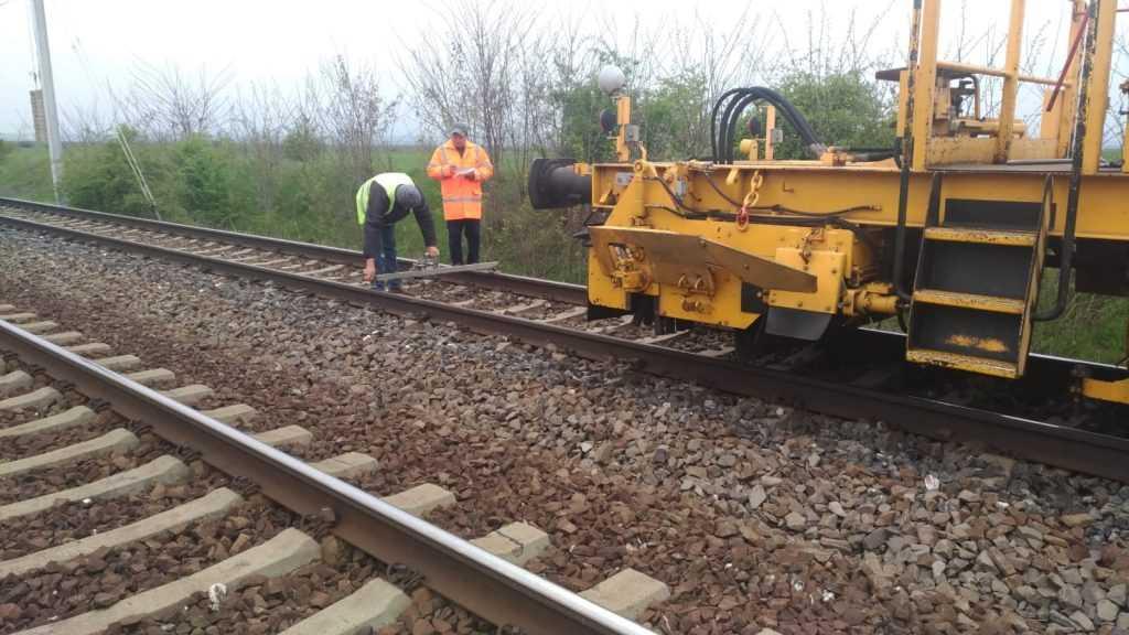 restricții de viteză la CFR consolidarea terasamentului la Valea Vișeului licitație la Regionala Craiova BVC CFR SA pe 2019 lucrări la infrastructura feroviară