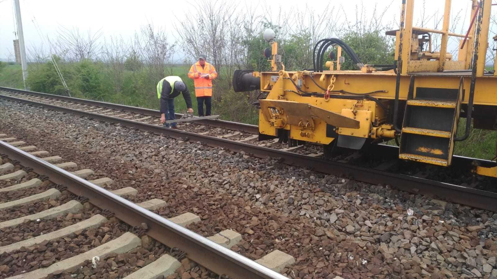 BVC CFR SA pe 2019 lucrări la infrastructura feroviară