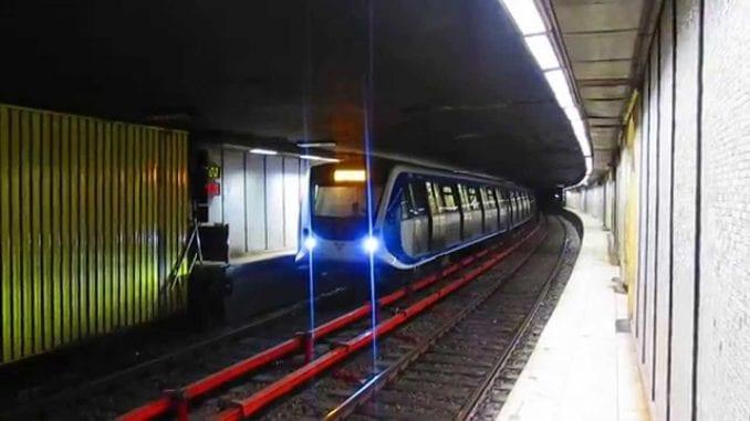 mentenanța trenurilor de metrou metrou de Înviere Vigorous Warrior 2019