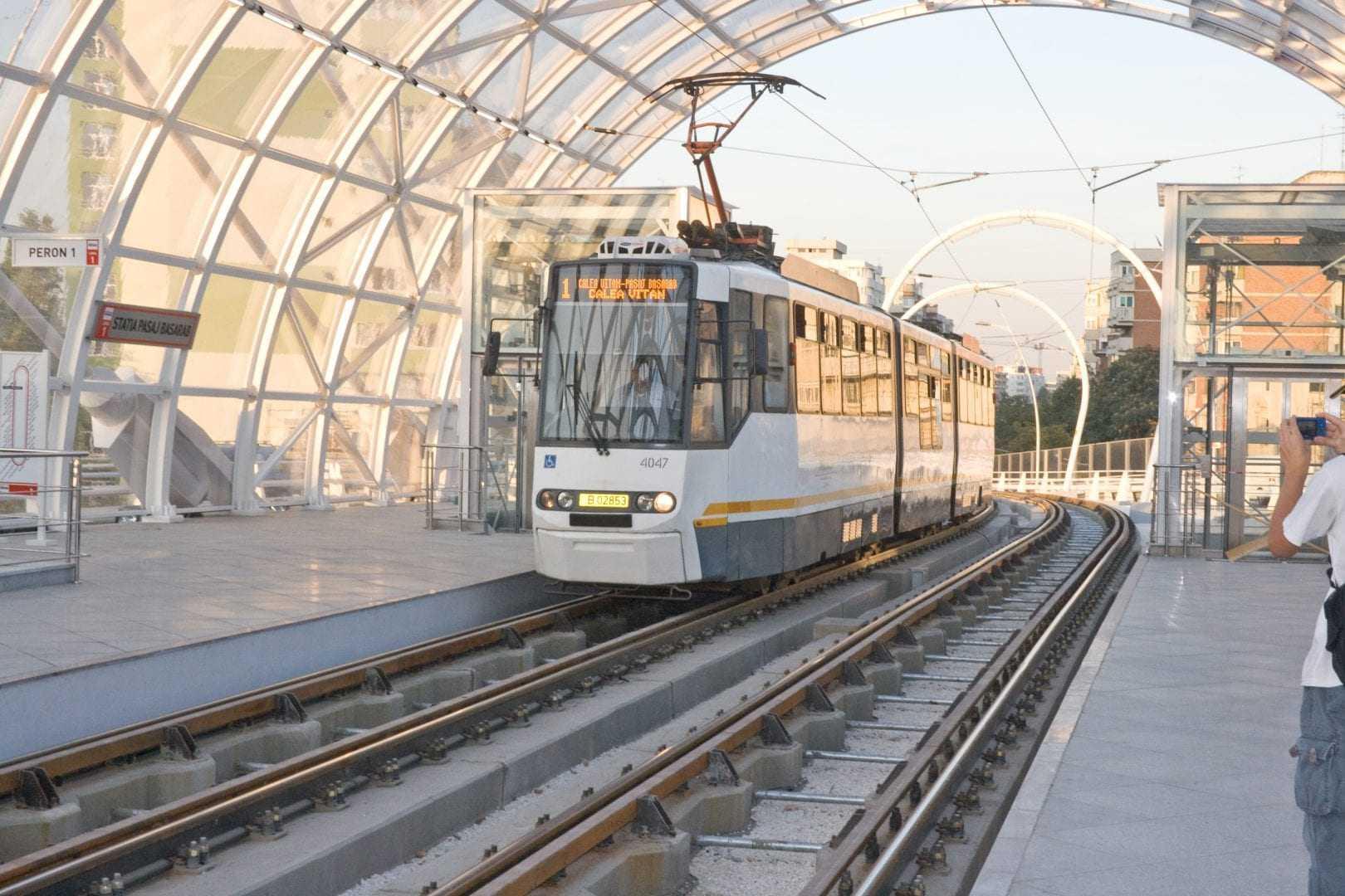 refugii de tramvai modernizate
