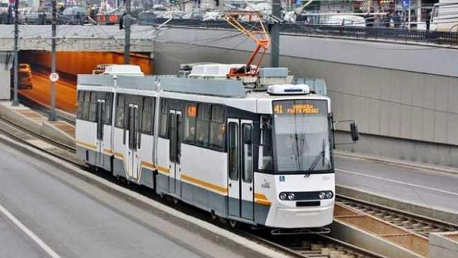 Se suspendă circulaţia tramvaiului 41