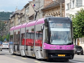 tramvaie la Cluj