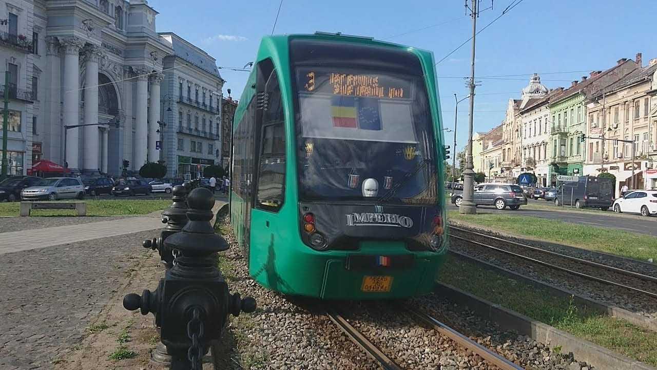 tramvaie moderne la Arad