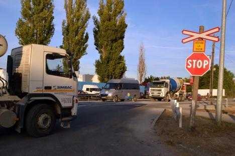 trafic deviat în Prahova
