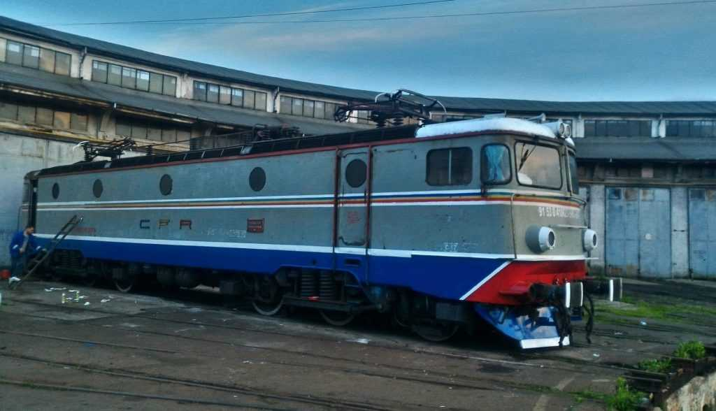 locomotivă de la Depoul Ploiești