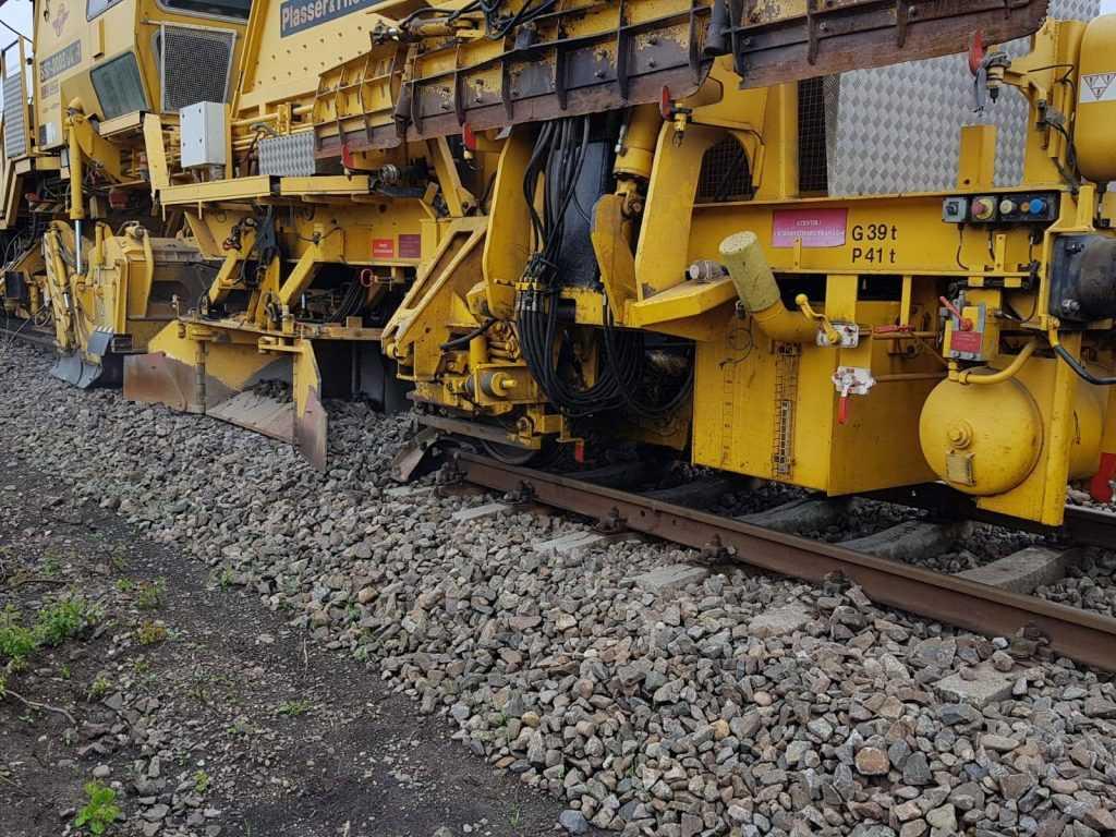 lucrări la infrastructura feroviară