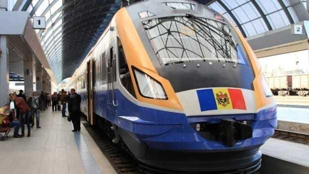 reorganizare feroviară la Chișinău tren pentru Odessa