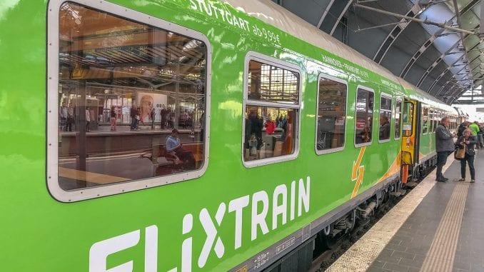 FlixTrain în Franța