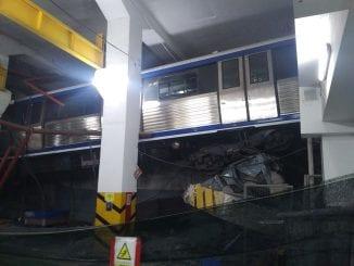 trenul zburător din Depoul Berceni defectări de trenuri la metrou