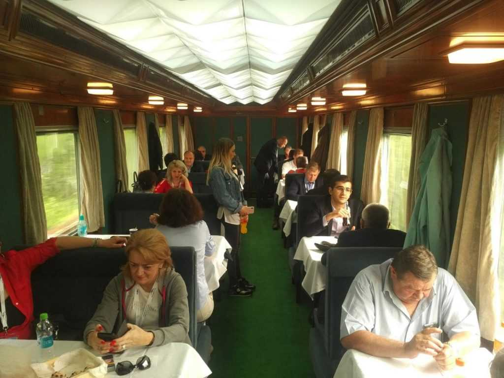 trenul prezidențial