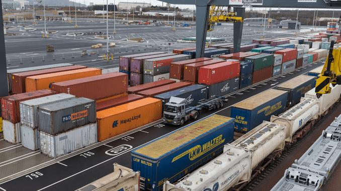 Infrastructura intermodală din porturi