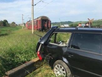 accident la calea ferată