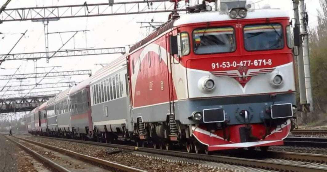 trenuri blocate Tren internațional blocat