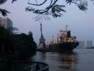 Portul Hekou din China