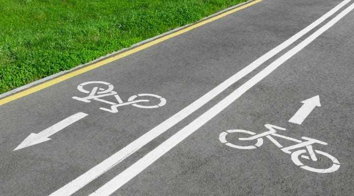 pistă de biciclete la Huedin