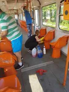 masuri controversate privind transportul in comun igienizare în tramvaie