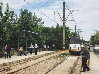 tramvaie în Pipera