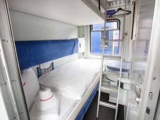 tren de noapte Montréal vagoane de dormit