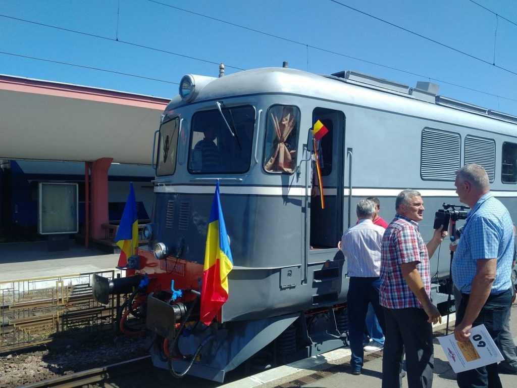 Gheorghiu Dej și locomotiva DA 001