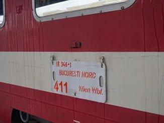 incendiu la locomotiva Trenurile internaționale revin în circulație suspendă Trenul Dacia Trenul de Viena IR Dacia