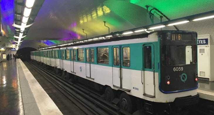 metrou din Paris
