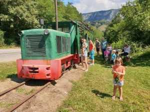 s-a reluat circulația Mocăniței din Apuseni Mocănița de pe Valea Arieșului