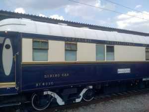 Orient Express în Gara de Nord