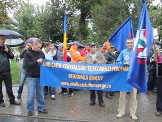 proteste sindicale la CFR