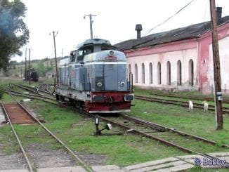 remiza de locomotive Dorohoi