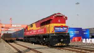 transport feroviar China