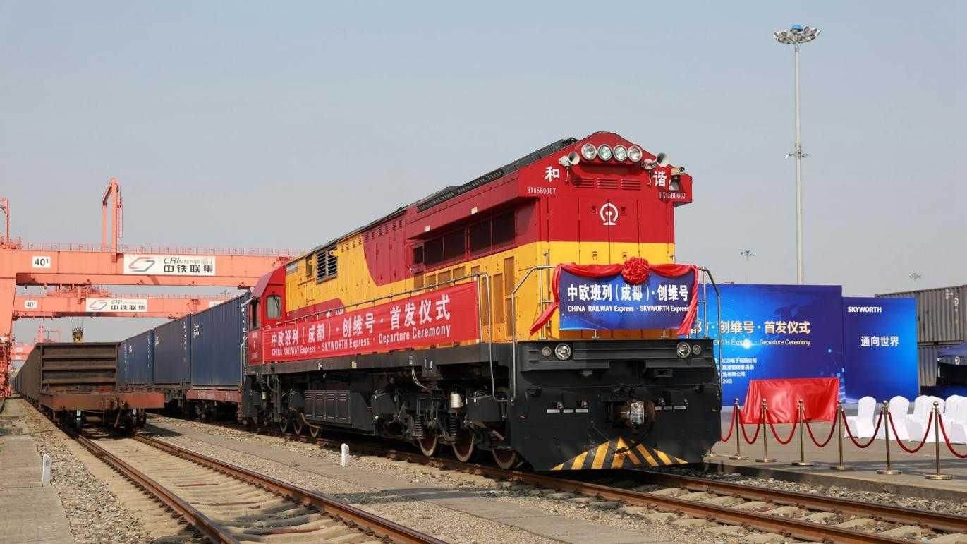 transport feroviar China