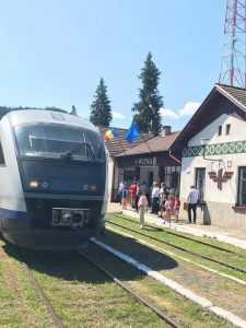 Desiro pe Suceava-Putna trenurile Suceava-Putna CFR a reluat circulația spre Putna