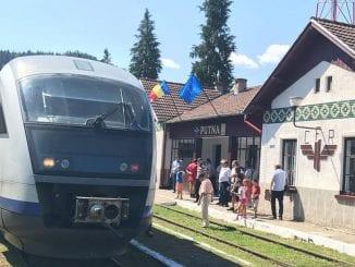 trenurile Suceava-Putna CFR a reluat circulația spre Putna