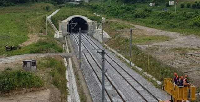 finanțare BEI pentru calea ferată lucrări de cale ferată