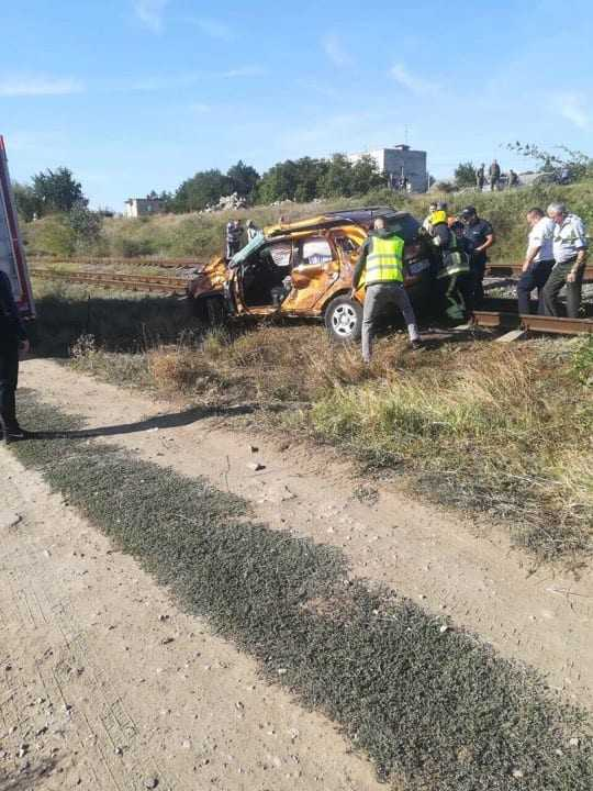 accident mortal pe calea ferată
