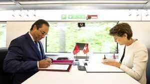 cooperarea feroviară Elveția-Maroc