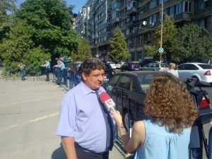 miting la Guvern greva generală la CFR Călători proteste sindicale la CFR