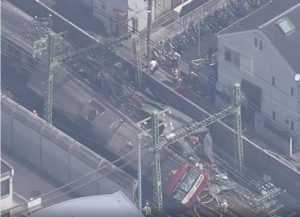 accident feroviar în Japonia