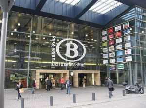tunel feroviar la Bruxelles